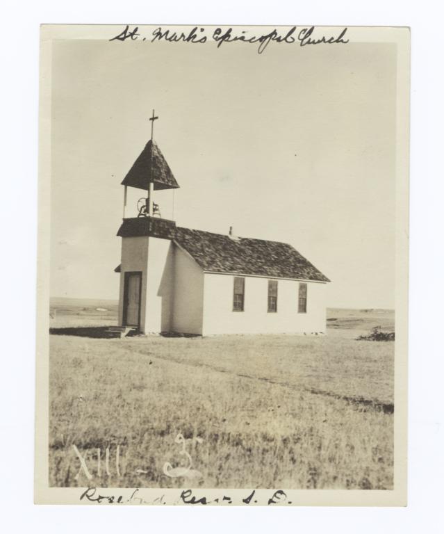 St. Mark's Episcopal Church, Rosebud Reservation, South Dakota