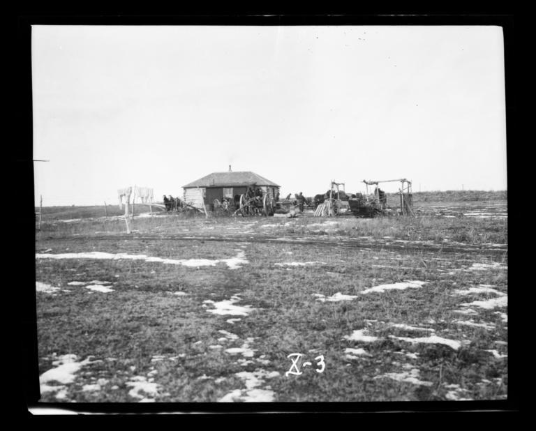 Indian Parsonage, Gilbert Memorial Congregational Church, Rosebud Reservation, South Dakota