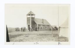 Indian Congregational Church on Rosebud Reservation, South Dakota