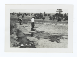Irrigating the Community Garden, Rosebud Reservation, South Dakota