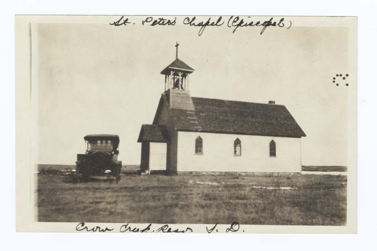St. Peter's Chapel, Crow Creek Reservation, South Dakota