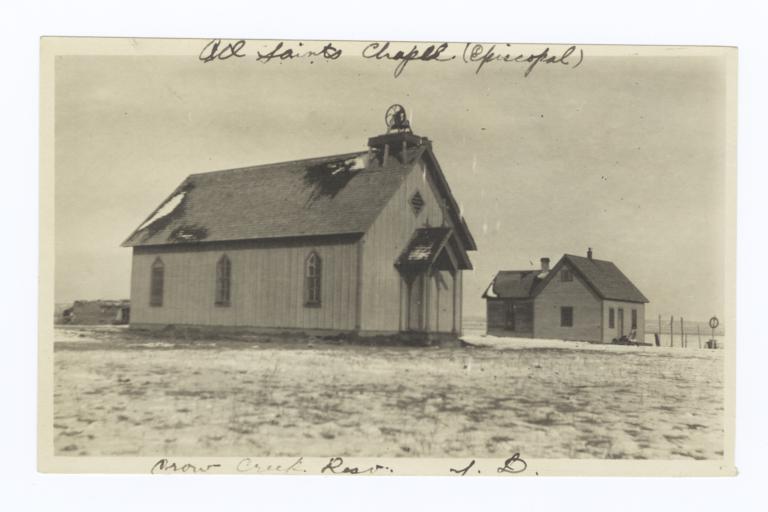 All Saints Chapel, Crow Creek Reservation, South Dakota