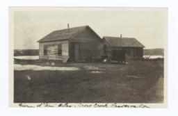 "Home of ""Jim"" Riley, Crow Creek Reservation, South Dakota"
