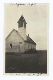 Presbyterian Chapel, Crow Creek Reservation, South Dakota