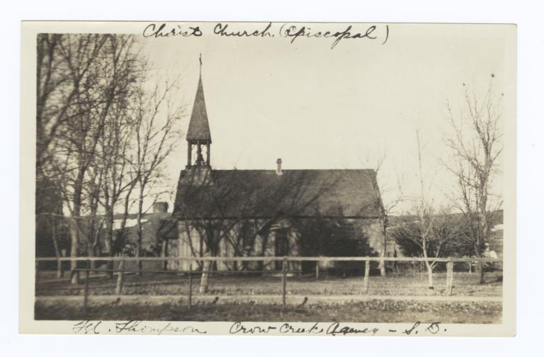 Christ Church, Crow Creek Reservation, South Dakota
