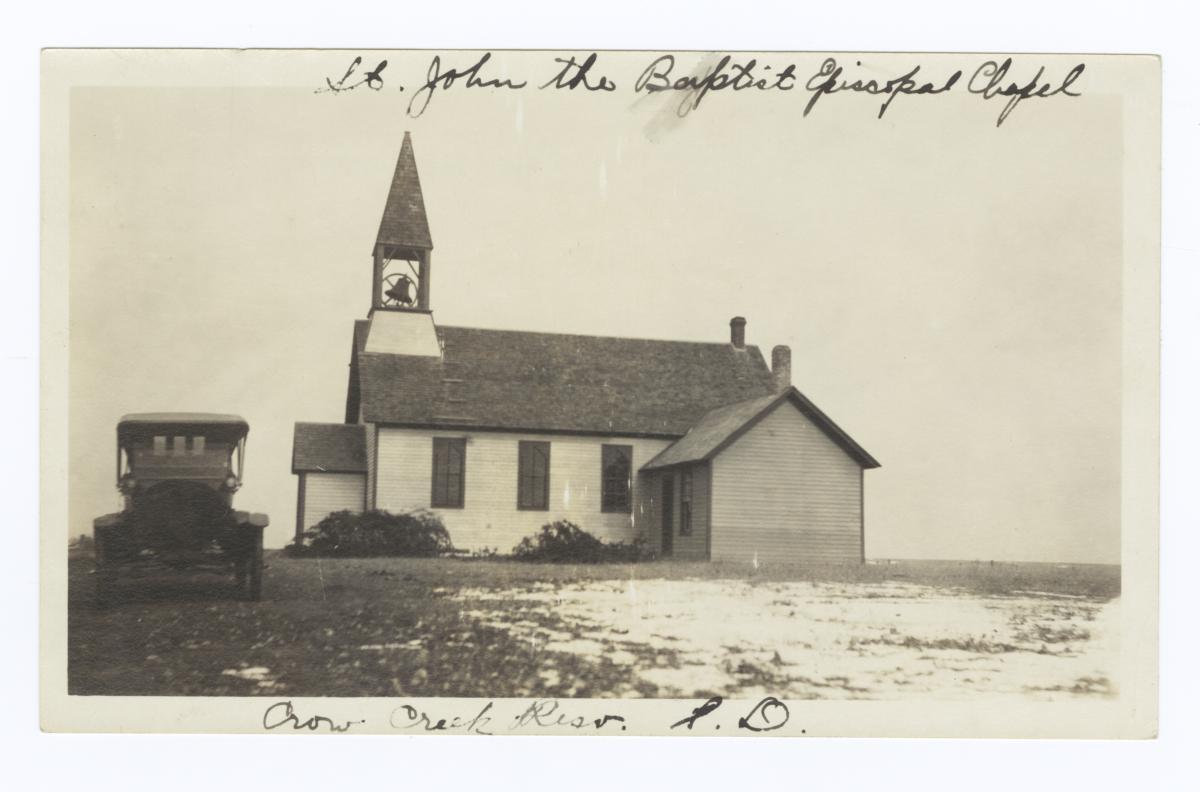 St. John the Baptist Chapel, Crow Creek Reservation, South Dakota