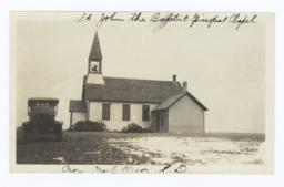 St. John the Baptist Chapel, Crow Creek Reservation, South Dakota