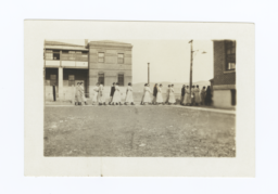 Group of Women Walking on a Sidewalk, Rapid City, South Dakota