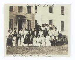 Cross Lake School, Red Lake Reservation, Minnesota