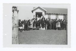 Group Photo at Church Dedication Ceremony