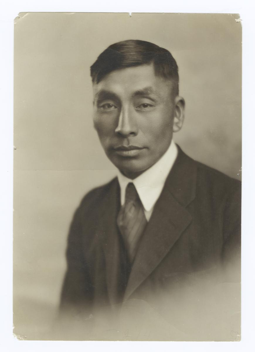 Portrait of Issac Greyearth