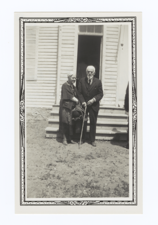 Dr. and Mrs. Thomas L. Riggs, Oahe, South Dakota