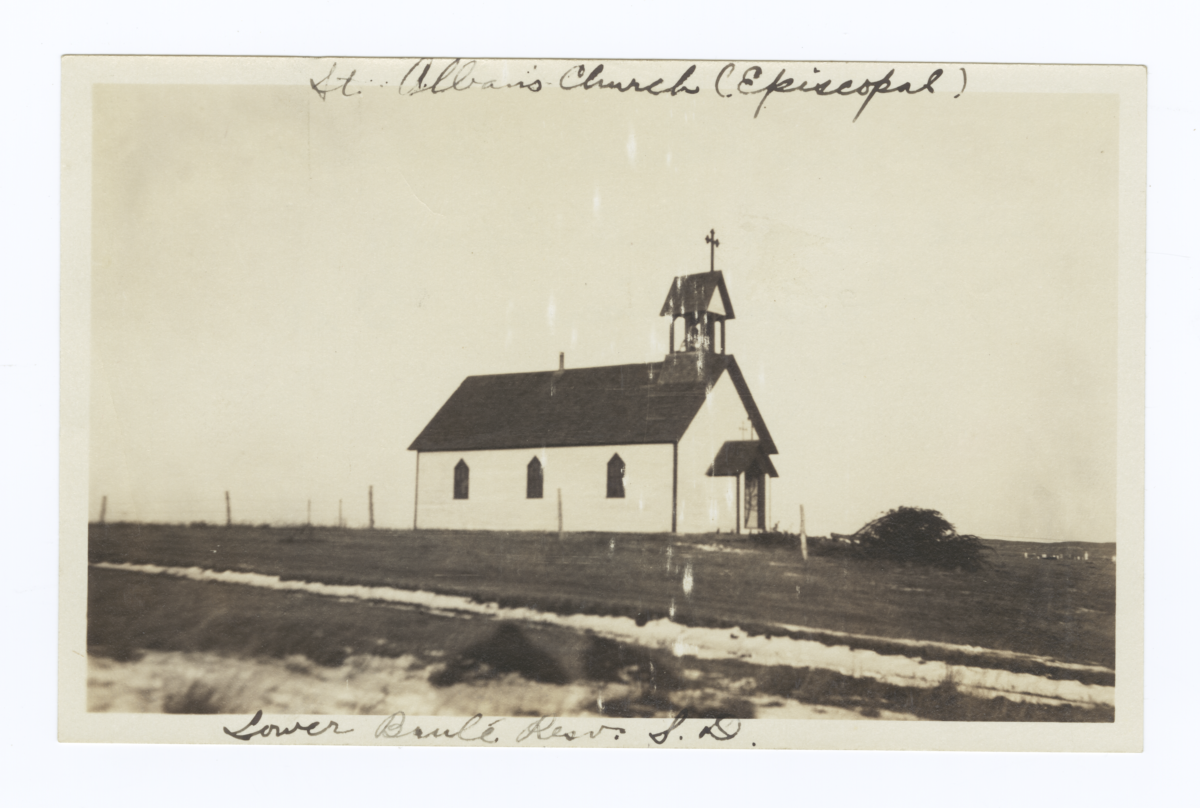 St. Alban's Church, Lower Brule Reservation, South Dakota