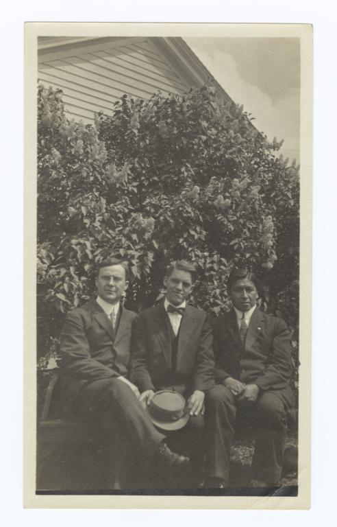 Bob Hall, Stephen Jones and G.E.E. Lindquist