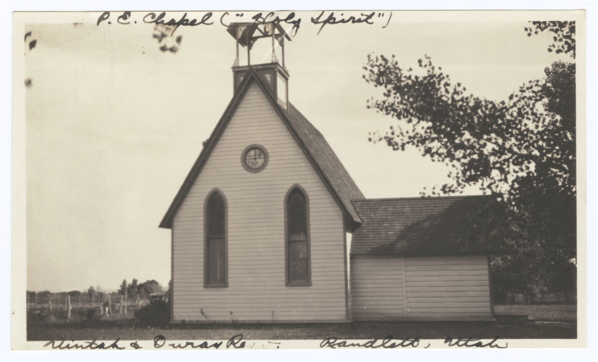 Holy Spirit Episcopal Church, Uintah and Ouray Reservation, Randlett, Utah