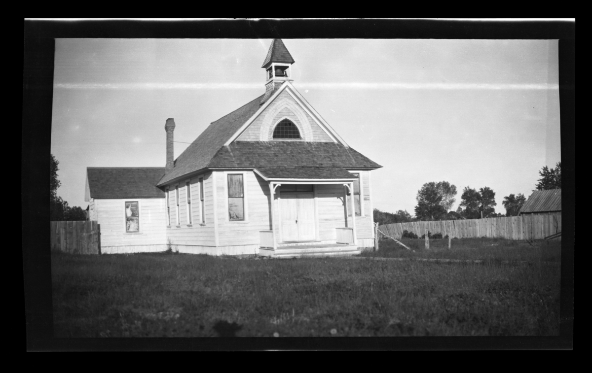 Protestant Episcopal Chapel on Uintah and Ouray Reservation, Whiterocks, Utah