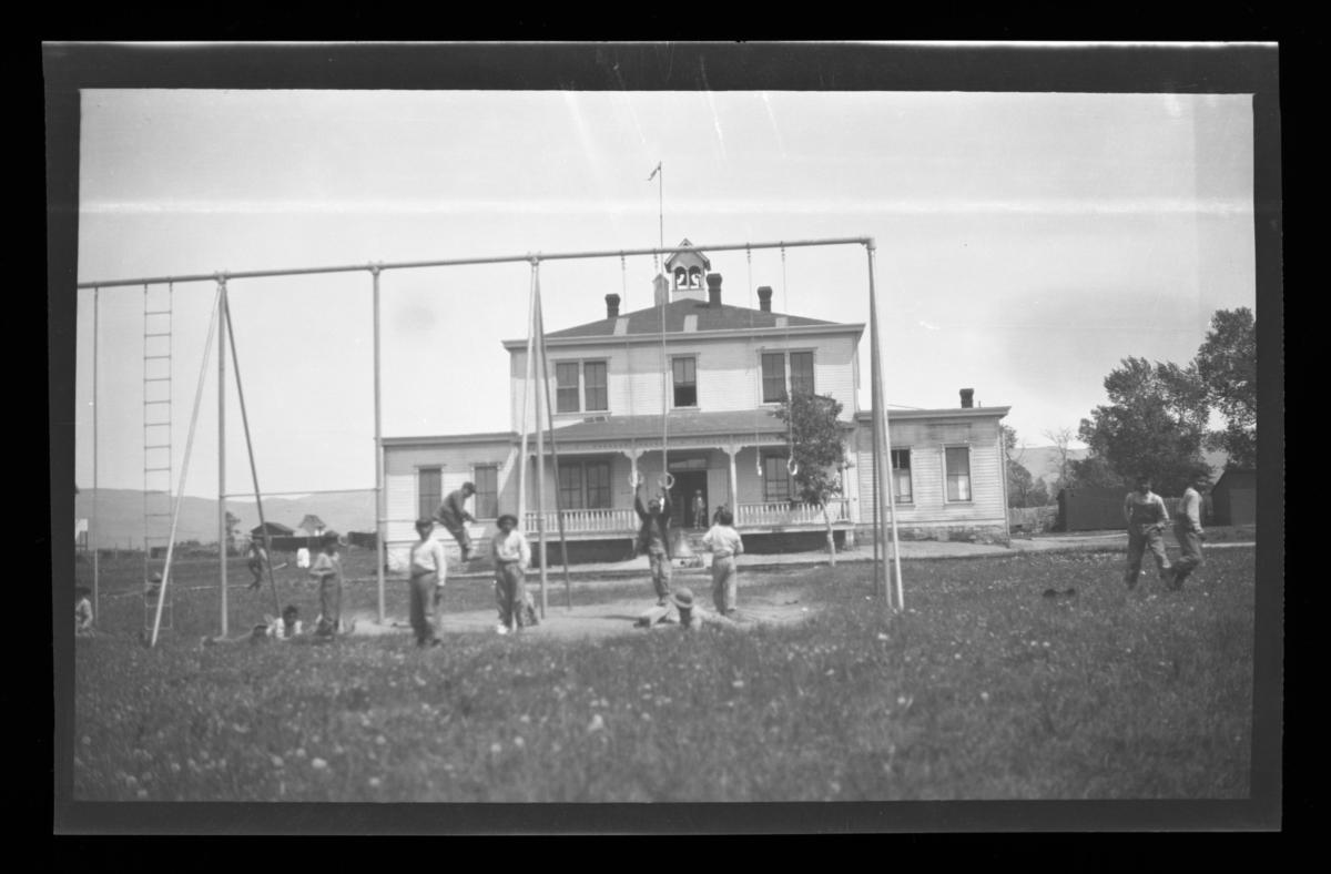 Boys' Dormitory and Class Rooms, Government Boarding School, Uintah and Ouray Reservation