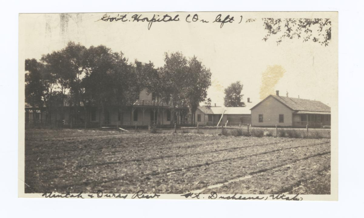 Government Hospital, Uintah and Ouray Reservation, Fort Duchesne, Utah