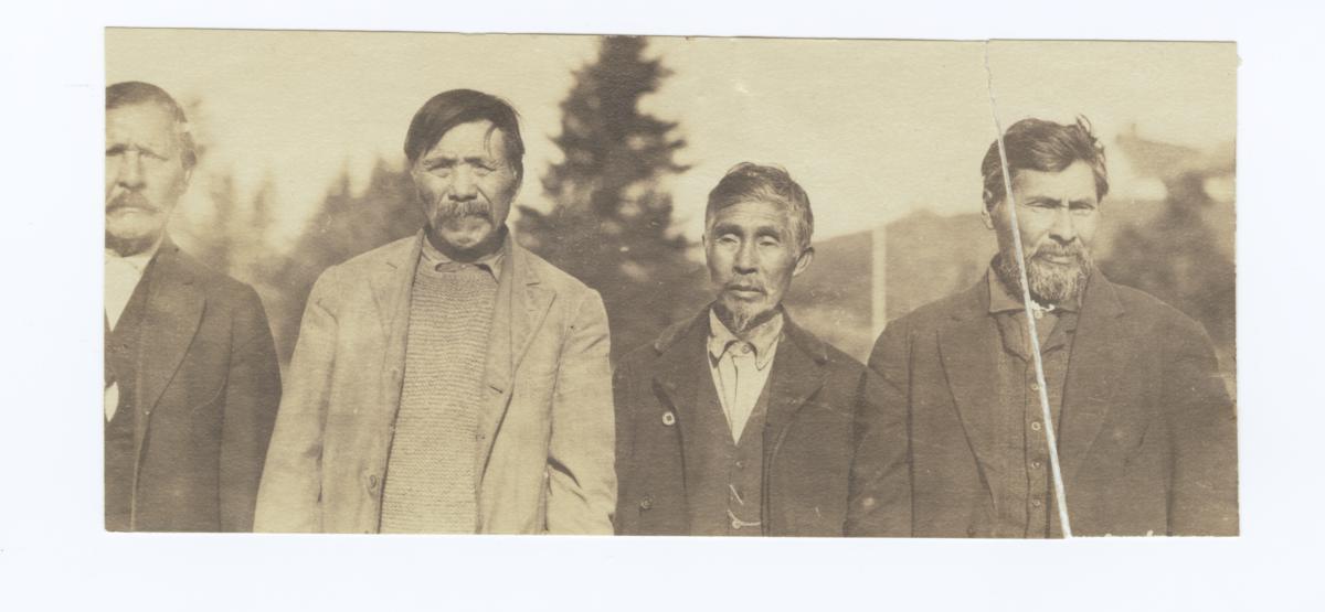 Four Rugged Men