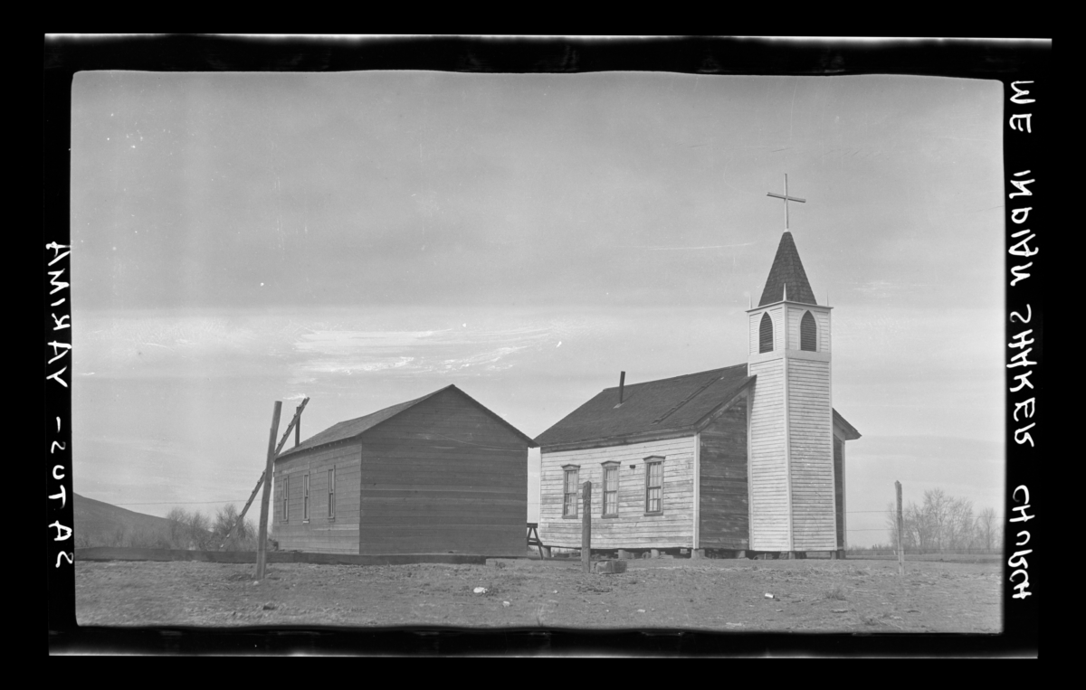 Methodists Mission Chapel Which Was Sold to an Indian Shaker Church
