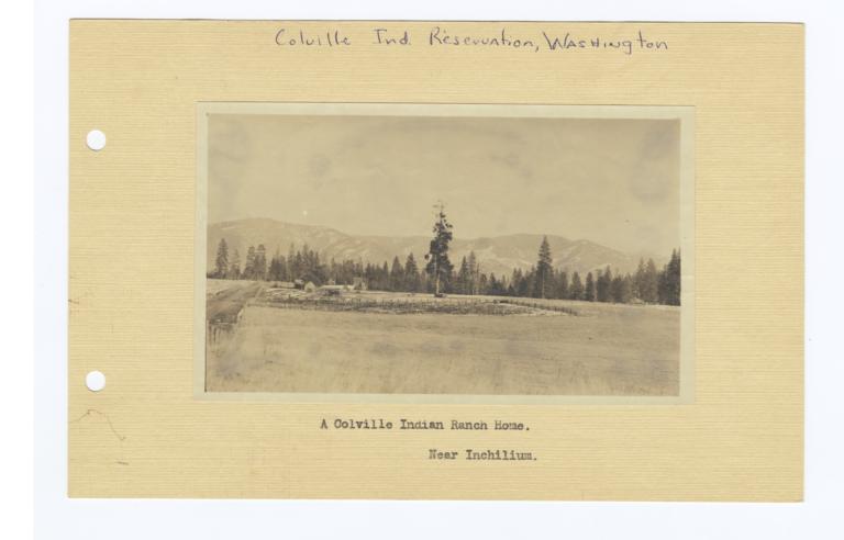 Colville Indian Ranch Home, Washington