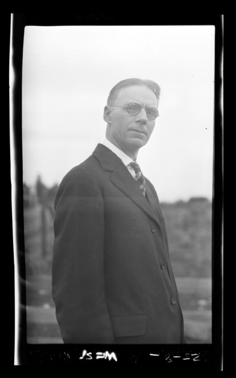 H.G. West, Indian Agent, Washington