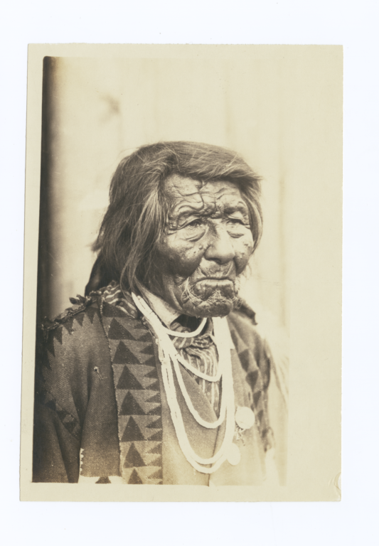 Portrait of a Cayuse Indian Man