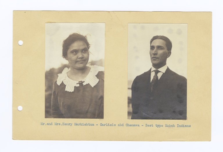 Mr. and Mrs. Henry Markishtum, Wabash, Washington