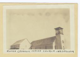 Roman Catholic Indian Church at Nespelem, Washington