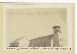 Roman Catholic Indian Church at Nespelem, Washington