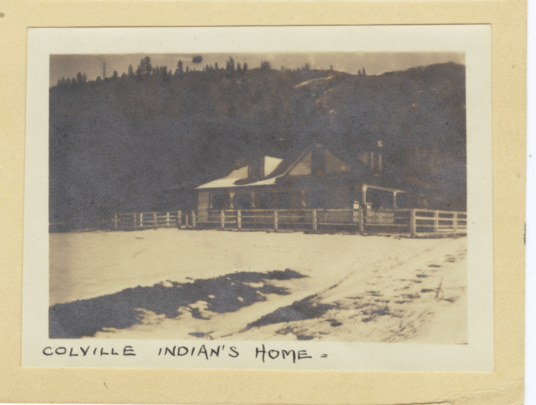 Colville Indian's Home and Surroundings