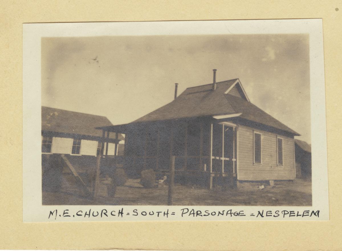 Parsonage of the Methodist Episcopal Church, Nespelem, Washington