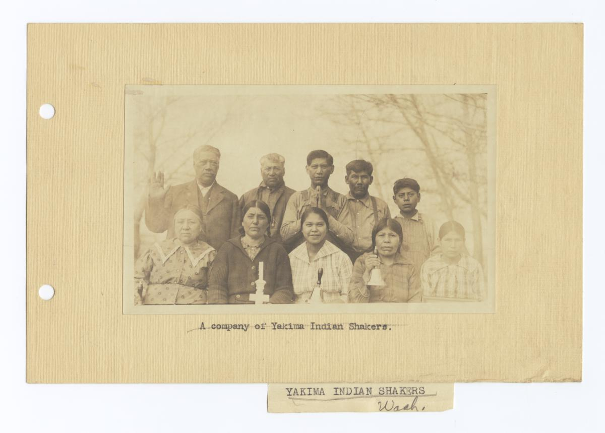 Company of Yakima Indian Shakers, Washington