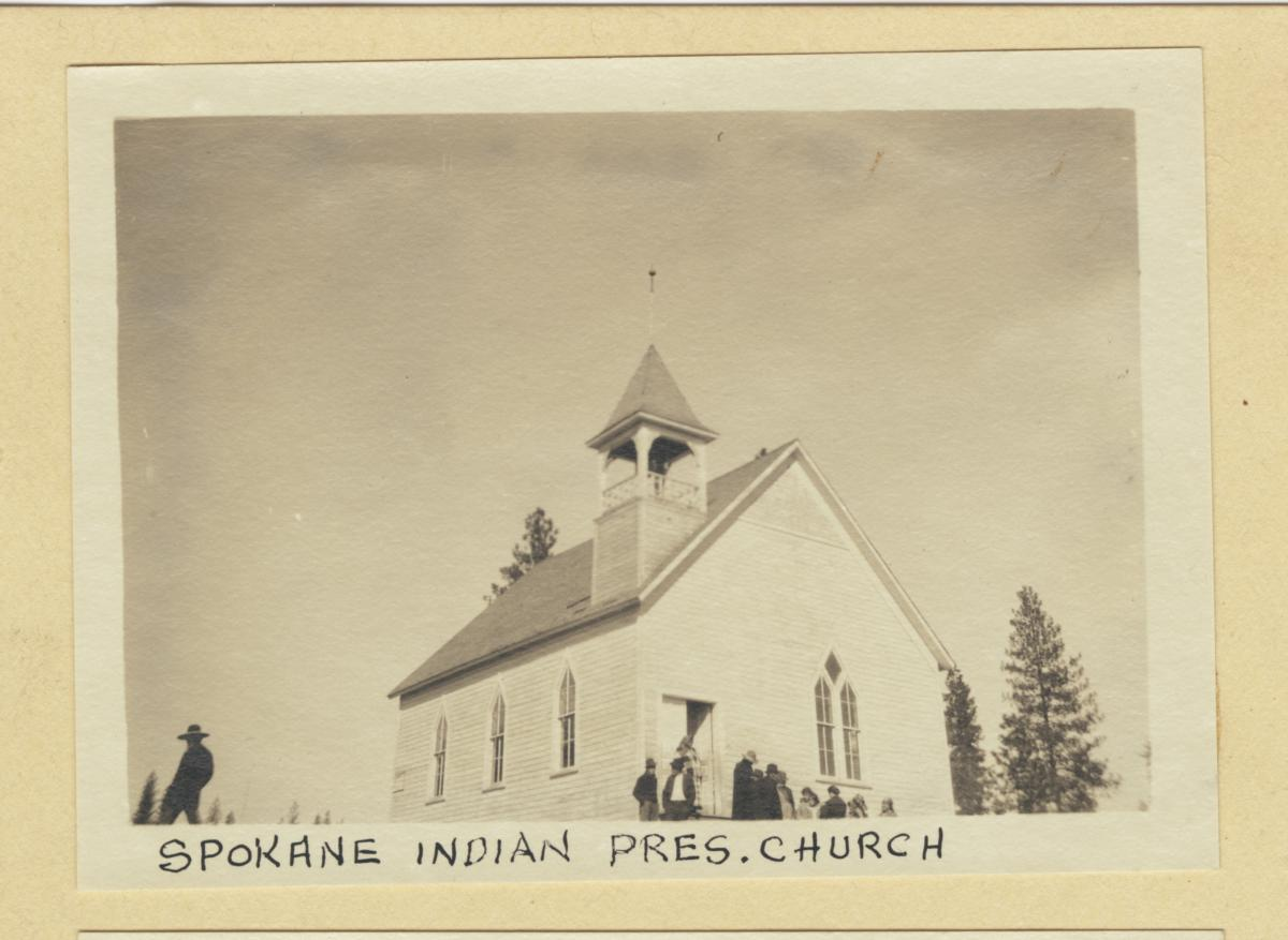 Spokane Indian Presbyterian Church, Washington