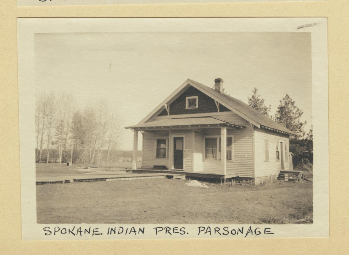 Spokane Indian Presbyterian Church Parsonage, Washington