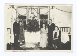 Christmas at the Tacoma Indian Hospital, Tacoma, Washington