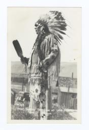 Chief Tommy Thompson, Celilo Falls, Oregon