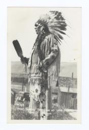 Chief Tommy Thompson, Celilo Falls, Oregon