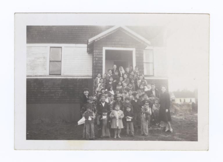 Taholah Sunday School, Taholah, Washington