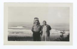 Mr. and Mrs. Foster James  Clallams from Port Gamble, Washington