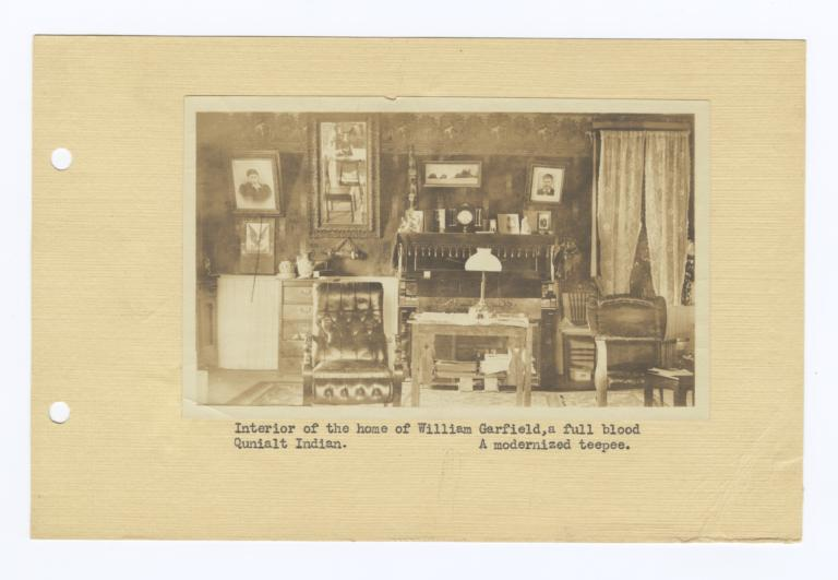 Interior of the Home of William Garfield