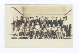 Students at Tomah Indian School, Wisconsin