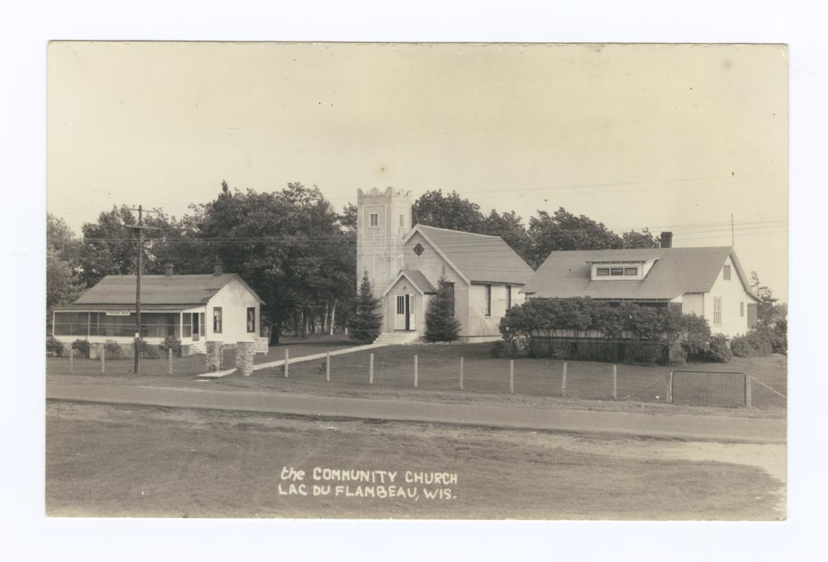 Community Church, Lac du Flambeau, Wisconsin