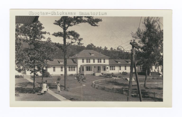 Choctaw-Chickasaw Sanatorium, Talihina, Oklahoma