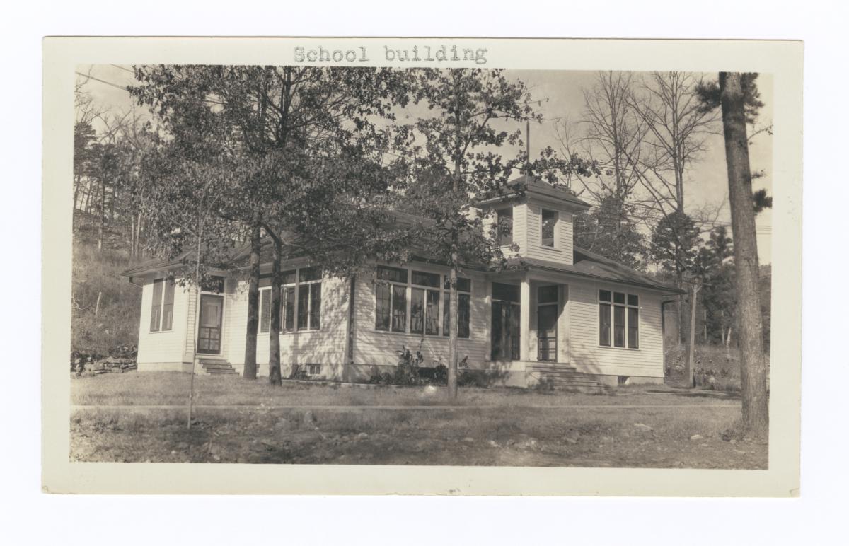 School Building, Choctaw-Chickasaw Sanatorium, Talihina, Oklahoma