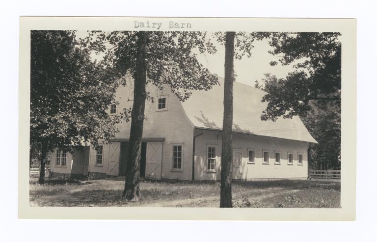 Dairy Barn, Choctaw-Chickasaw Sanatorium, Talihina, Oklahoma