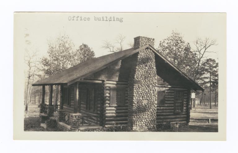 Office Building, Choctaw-Chickasaw Sanatorium, Talihina, Oklahoma