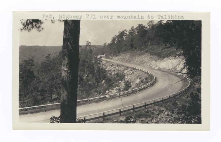 Federal Highway 271 to Talihina, Oklahoma