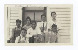 Group of  Mississippi Choctaw Patients at Choctaw-Chickasaw Sanatorium, Talihina, Oklahoma
