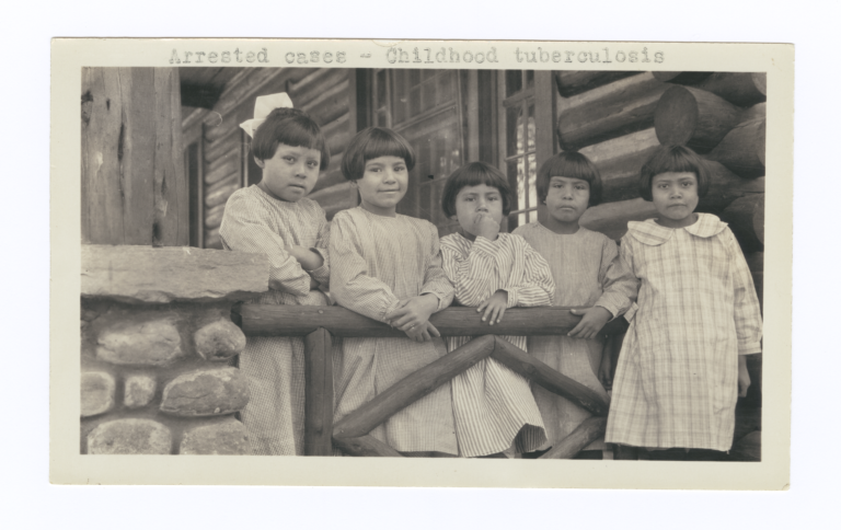 Young Tuberculosis Patients at Choctaw-Chickasaw Sanatorium, Talihina, Oklahoma